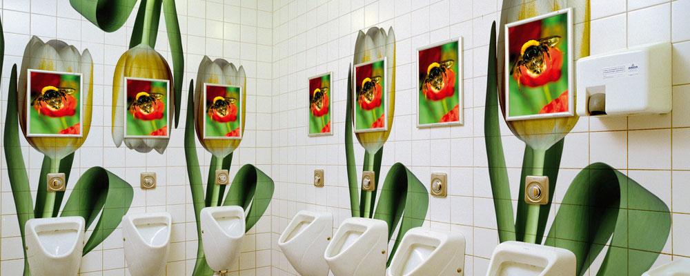 Toiletreclame werkt!
