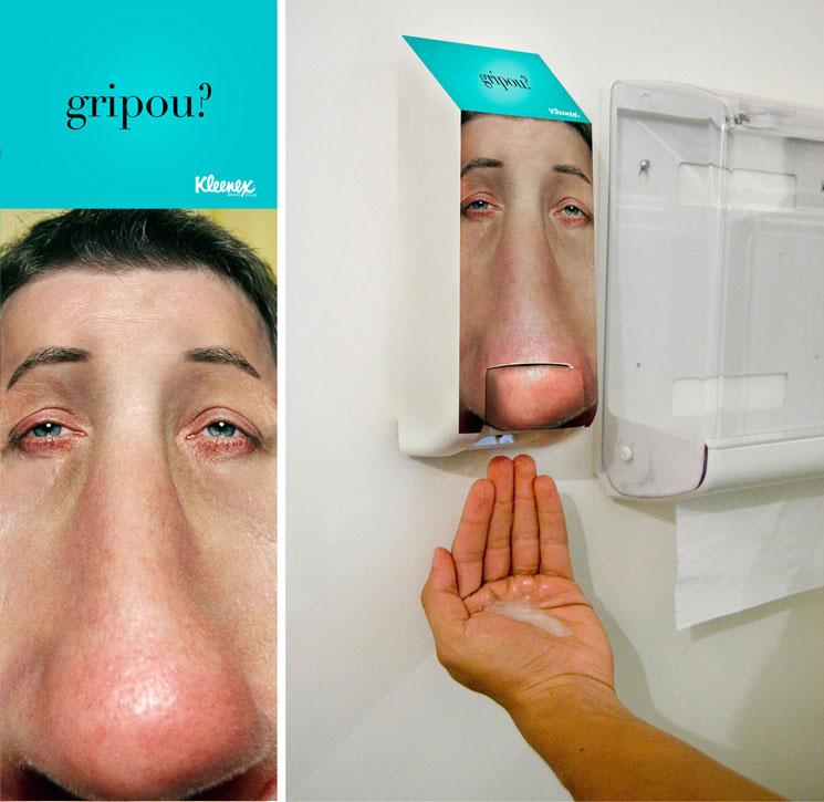 Kleenex: Soap dispenser |